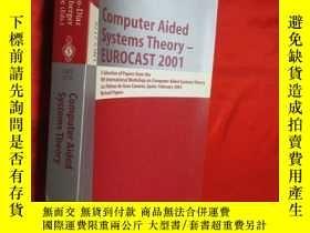 二手書博民逛書店Computer罕見aided systems theory -