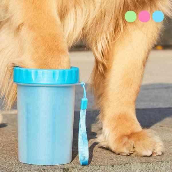 寵物 洗腳神器 小狗 小貓 狗狗洗腳杯 寵物洗腳器 潔足 外出 寵物美容 清潔用品 『無名』 N08109