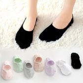 船襪女襪子女淺口韓版可愛純棉硅膠防滑黑色薄款隱形短襪    琉璃美衣