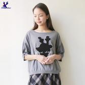 【秋冬降價款】American Bluedeer - 可愛鹿頭針織上衣(魅力價) 秋冬新款