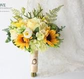 設計森系馬蹄蓮太陽花向日葵