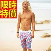 海灘褲-防水衝浪創意新品獨特精美男短褲子3色54q20[時尚巴黎]