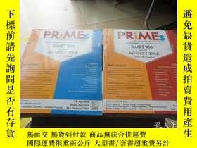 二手書博民逛書店PRIMES罕見PG REVIEW IN MINIMAL EFFORTS I+II(2本合售)Y413068
