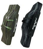 黑五好物節魚竿包三層雙層大肚包釣魚海竿包漁具包