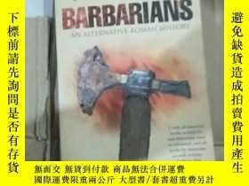 二手書博民逛書店英文原版:羅馬帝國罕見Terry Jones Barbarian