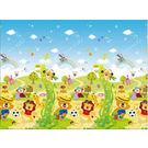 韓國帕龍 Parklon 動物足球地墊(包邊.背面防滑設計)-PL012【佳兒園婦幼館】