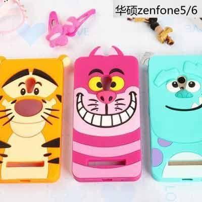 【紅荳屋】華碩 AUSU Zenfone 5/6 Selfie ZD551KL卡通矽膠軟殼手機殼保護軟殼保護套