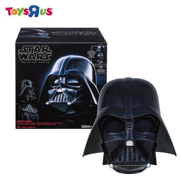 玩具反斗城  HASBRO 星際大戰黑標系列達斯維德收藏頭盔
