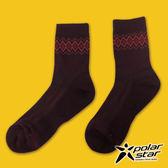 【PolarStar】排汗登山健行襪『暗紅』P16617 排汗襪彈性襪紳士襪休閒襪涼感襪長筒襪襪子