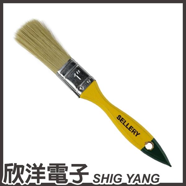 SELLERY 舍樂力 長毛木柄油漆刷1號 (S31-151)