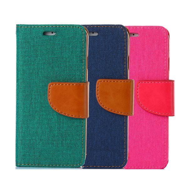Samsung Galaxy Note 5 韓風雙色牛仔紋皮套 側掀磁扣支架式皮套 矽膠軟殼 抗震耐摔 綠藍桃多色選擇