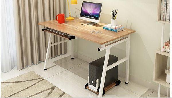 電腦桌 台式家用簡約現代辦公桌簡易桌子書桌寫字桌台式電腦桌SSJJG【時尚家居館】