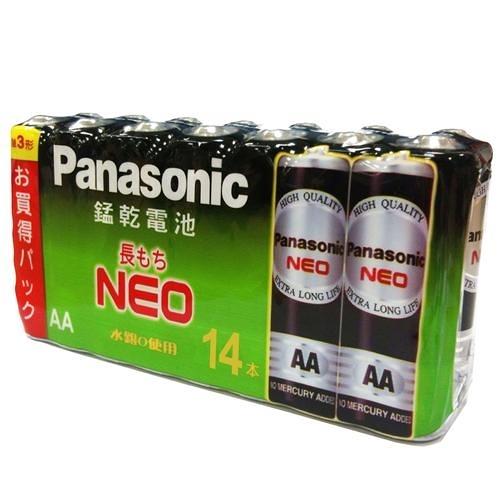 國際牌黑錳乾電池3號14入/ 組X6組【愛買】