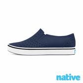 native 小童鞋 MILES 小邁斯晴雨鞋-海軍藍x貝殼白