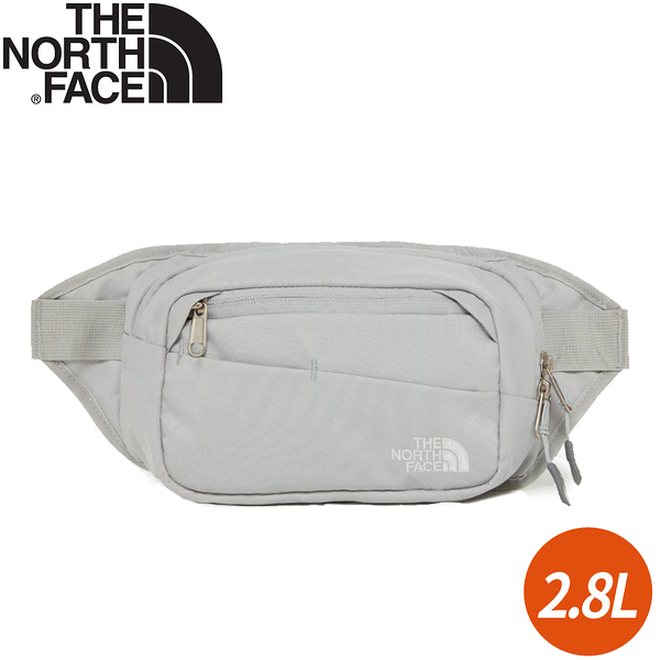 【The North Face 2.8L 多功能腰包《灰/白》】2UCX/側背包/隨行包/臀包/小包