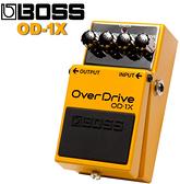 【非凡樂器】BOSS OD-1X OverDrive破音效果器 / 公司貨保固
