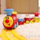 寶麗兒童小火車軌道玩具套裝3歲男孩女2寶寶禮物拼裝益智電動汽車 小時光生活館