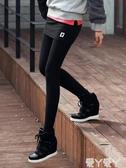 褲裙秋冬季包臀假兩件打底褲裙女外穿薄款韓版顯瘦帶裙子高腰大碼長褲新品