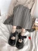 瑪麗珍鞋2020新款春日系小皮鞋女jk制服學生厚底瑪麗珍鞋小清新大頭娃娃鞋 JUST M