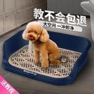 狗廁所小型犬大號大型犬防踩屎自動中型狗狗用品狗尿便盆寵物沖水 「夢幻小鎮」