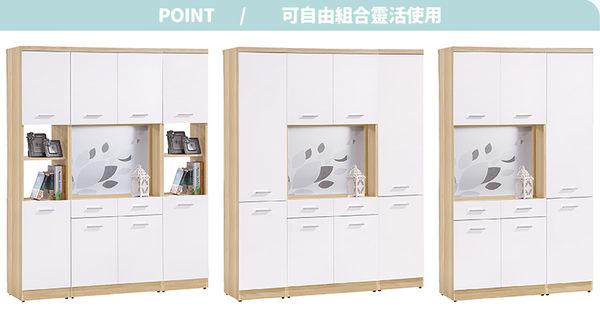 【森可家居】克萊兒北歐1.3尺玄關中空雙面鞋櫃 7HY381-3 高 細長窄型 收納櫃 無印北歐風 MIT