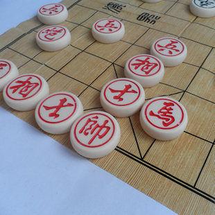 玉化石中國象棋 4.0型號 玉化石防摔耐磨 未全