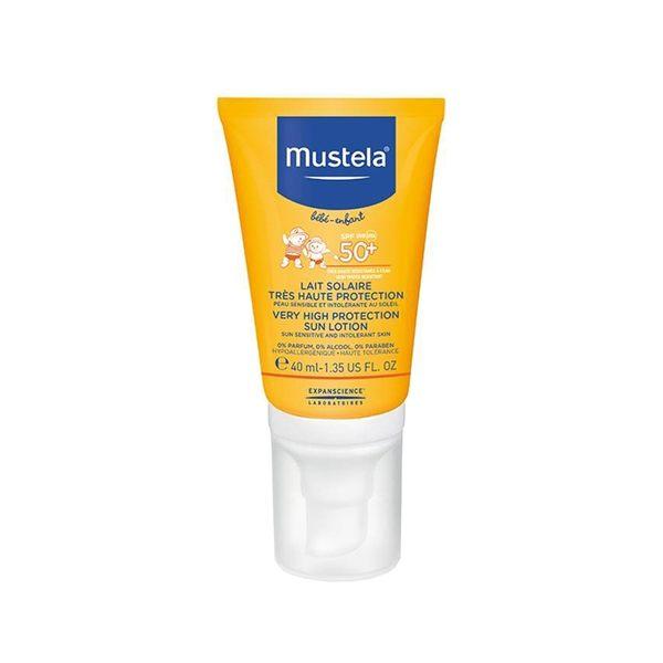慕之恬廊Mustela 高效性兒童防曬乳SPF50+ (小)40ml
