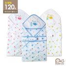 台灣製DODOE 高密度120支超棉柔四層紗 紗布包巾 柔軟透氣 貓頭鷹 嬰兒包巾 被毯兩用75x75cm【JA0109】