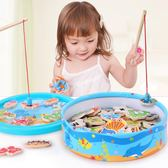 幼兒童木質磁性釣魚玩具男女孩1-2-3-6周歲半小孩子寶寶益智早教 igo