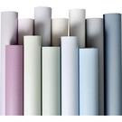 牆紙自黏臥室溫馨防水防潮壁紙純色白色宿舍裝飾背景牆貼紙翻新貼 樂活生活館
