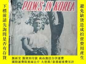 二手書博民逛書店UNITED罕見NATIONS P.O.W.S IN KOREA