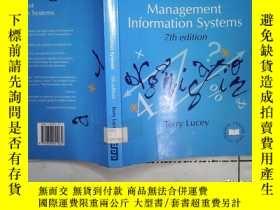 二手書博民逛書店Management罕見information Systems管