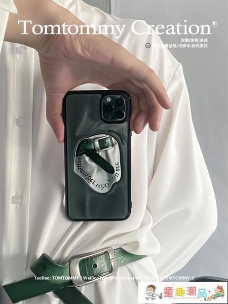 蘋果手機殼 Tom原創適用蘋果11手機殼iphone12promax高級xr鏡子7\/8p潮ins新款 童趣