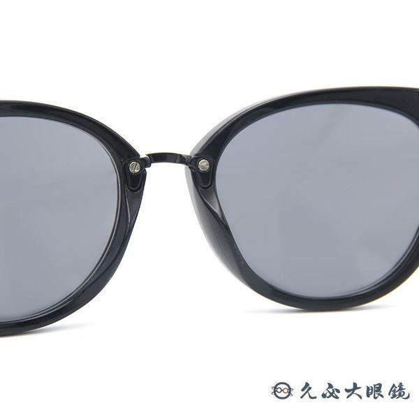 FENDI 墨鏡 經典 貓眼 太陽眼鏡 FF0118S AQMUE  黑 久必大眼鏡