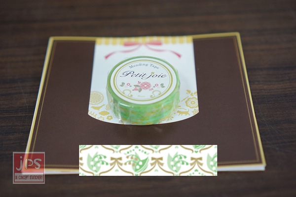 【NICHIBAN】 日絆 Petit Joie Mending Tape 花邊隱形膠帶 風鈴草蝴蝶結 (PJMD-15S013)