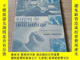 二手書博民逛書店Mapping罕見The Social Landscape: Readings In SociologyY21
