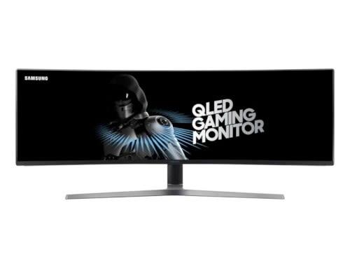 Samsung 三星 C49HG90DME 32:9 144Hz QLED 金屬量子點 HDR 商用 顯示器 超寬 螢幕