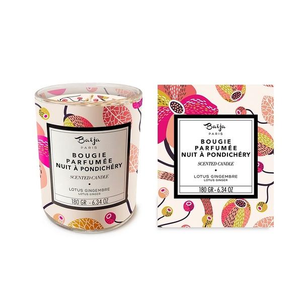巴黎百嘉 香氛蠟燭 180g 蓮花紫薑 大豆蠟 純植物蠟 可按摩 BAJ0618017 Baija Paris