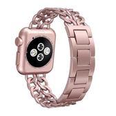 年末鉅惠 apple watch錶帶蘋果iwatch2手錶錶帶不銹鋼時尚金屬手鍊運動3
