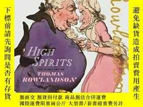 二手書博民逛書店High罕見Spirits: The Comic Art of