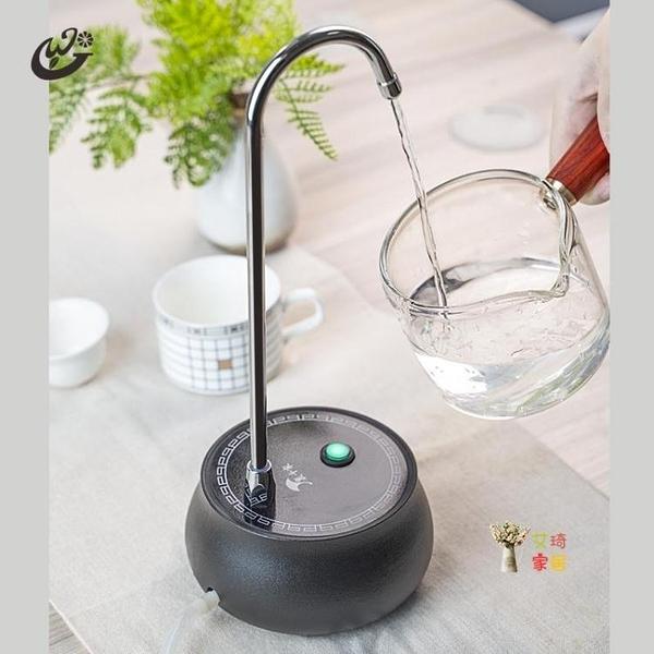 抽水器 電動吸水器純凈水抽水器桶裝水自動上水器功夫茶臺無線飲水機家用電動吸水器T