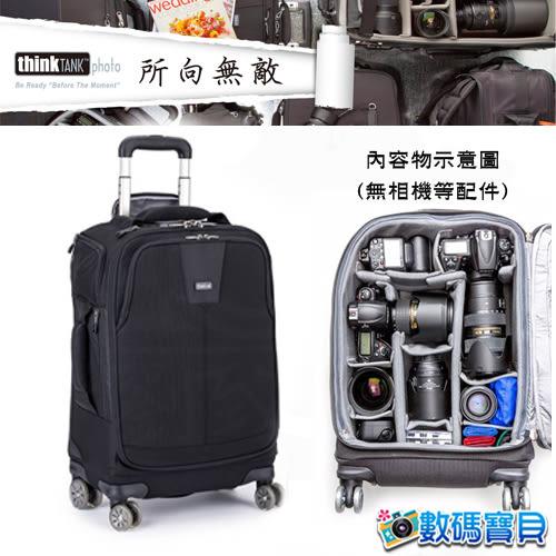 ThinkTank 創意坦克 AR514 Airport Roller Derby TM 輕型四滾輪行李箱 TTP514 1機7鏡 【彩宣公司貨】