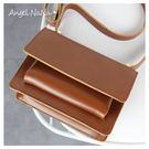 斜背包-韓國東大門夯款簡約復古小方包 (SBA0292) AngelNaNa
