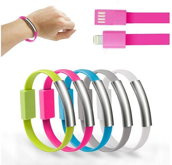 【超人生活百貨O】Apple 8pin 手環式 充電傳輸線 iphone5 5s 6充電線 傳輸線 二合一