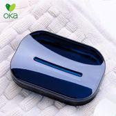 亞克力肥皂盒 香皂盒 創意 雙層瀝水北歐家用肥皂盒 家用浴室皂架 溫暖享家