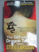 【書寶二手書T6/原文小說_KKE】The Girl with the Dragon Tattoo_Stieg Larsson