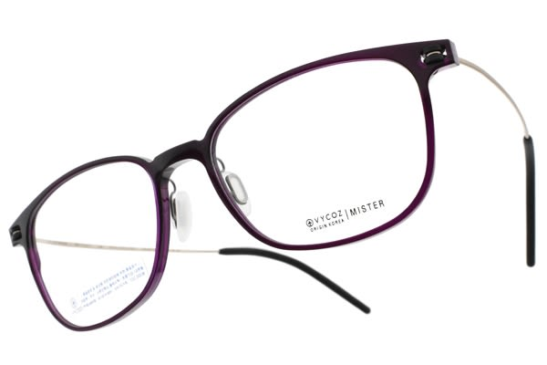 VYCOZ 光學眼鏡 MISTER MPUR (透紫-金) 植粹環保簡約鏡框 # 金橘眼鏡