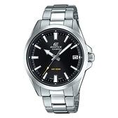 CASIO EDIFICE 日期顯示不鏽鋼錶帶腕錶(EFV-100D-1A)-黑x48mm