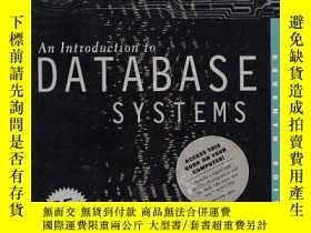 二手書博民逛書店An罕見Introduction To Database Systems e-book (7th Edition)