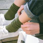 3雙裝堆堆襪女韓國秋冬襪子女純棉中筒襪日系韓版棉襪學院風長襪  晴光小語